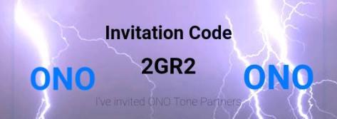ONO Invitation Code