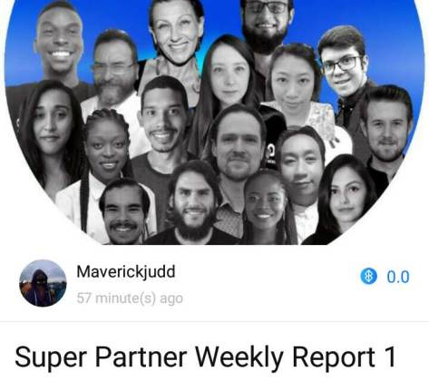 ONO Super Partner Weekly Report 1